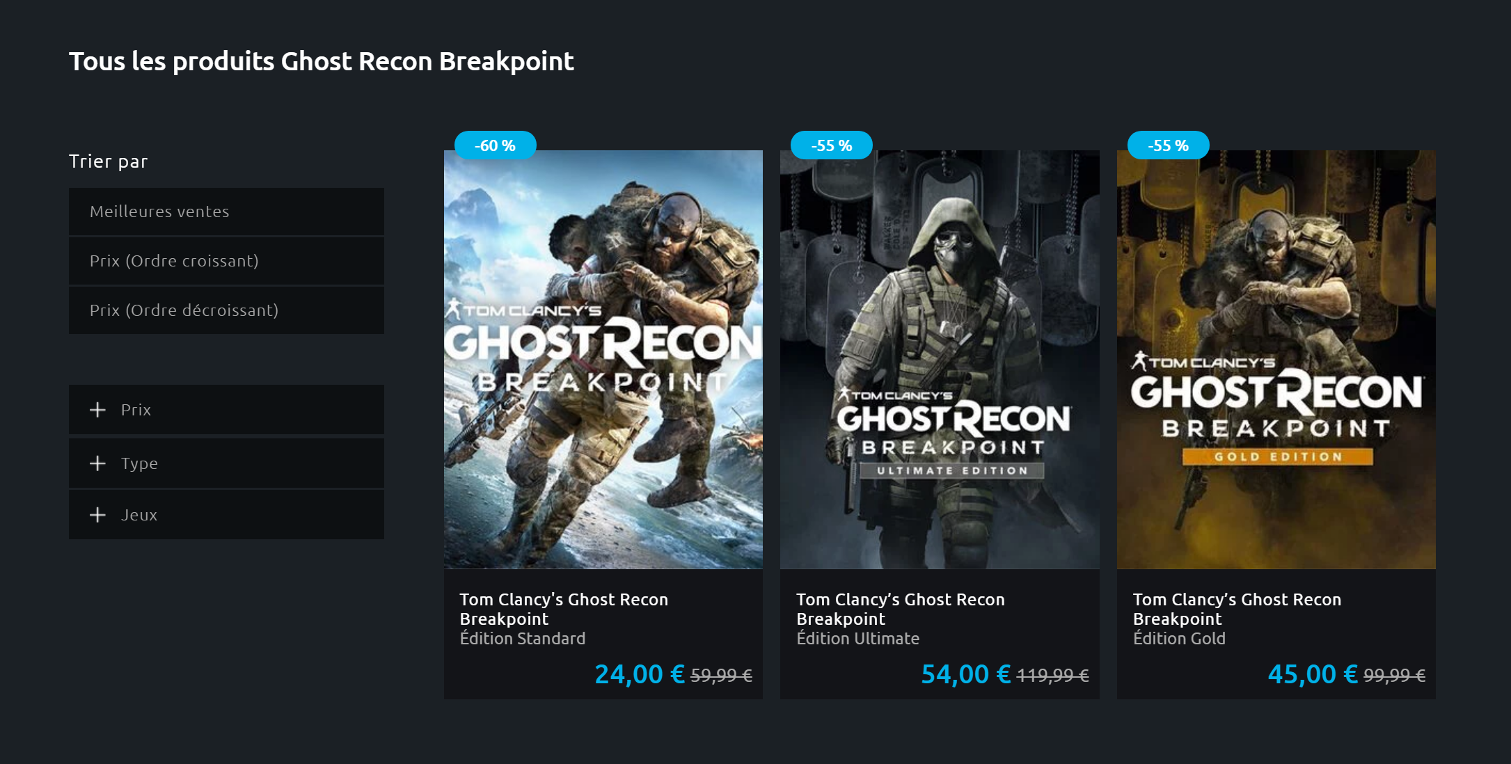 Promotion Uplay Breakpoint