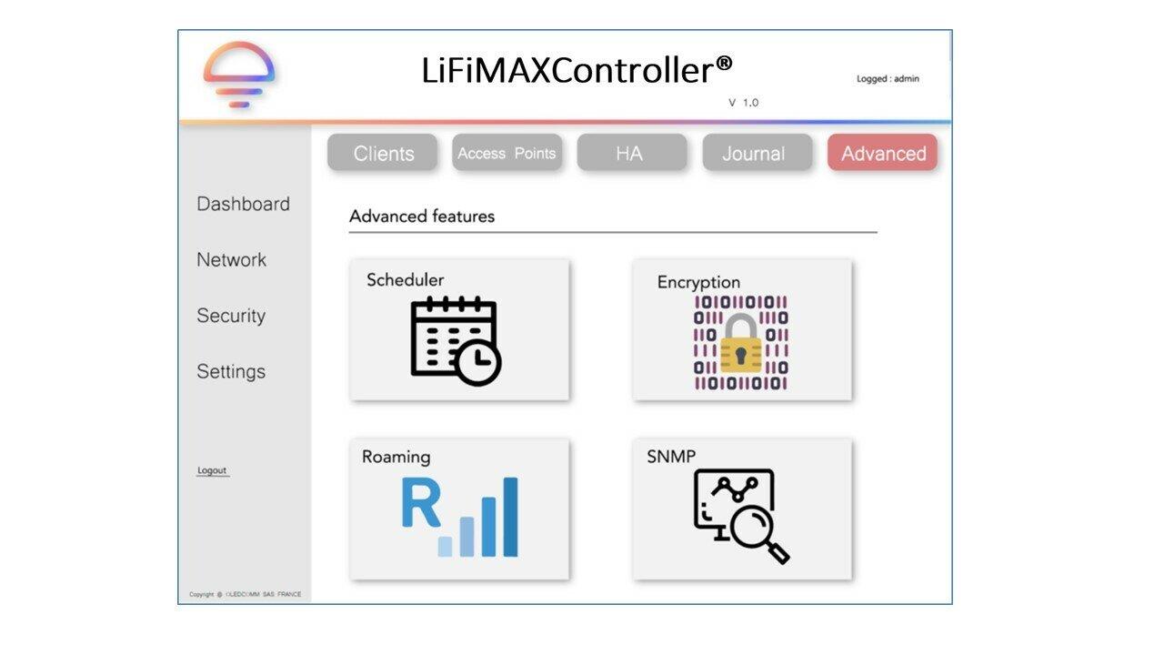 LiFiMAXController