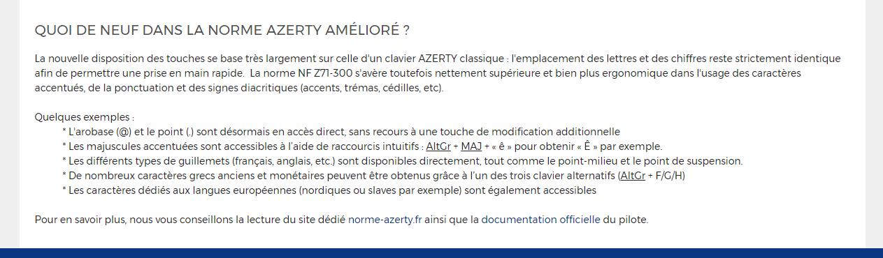 LDLC Clavier AZERTY Amélioré Guide