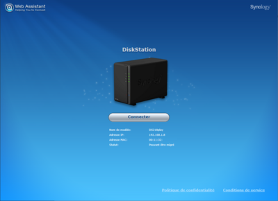 Synology DS218play Installation