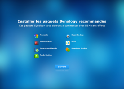 Synology DS218play Configuration