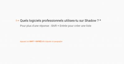Blade Shadow B2B