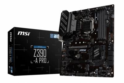 MSI Z390 A-Pro