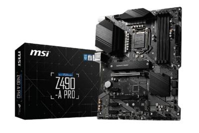 MSI Z490 A-Pro