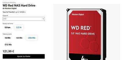 WD Red SMR CMR