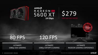 Radeon RX 5600XT 14 Gbps