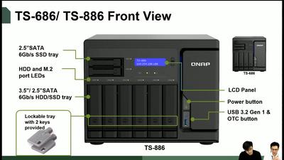 QNAP TS-686 TS-886