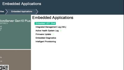 HPE ProLiant Microserver Gen10 Plus UEFI
