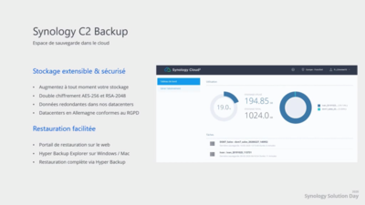 Synology Solution Day 2020 Hyper Backup C2