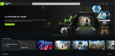 GeForce Now Steam