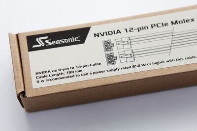 Seasonic 12 broches NVIDIA GeForce RTX 3090 Rumeurs