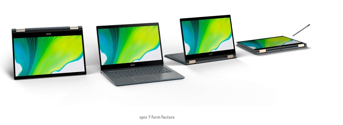 Acer Spin 7 Snapdragon 8cx