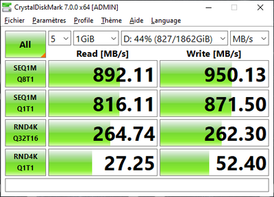 Realtek RTL9210B CrystalDiskMark 7