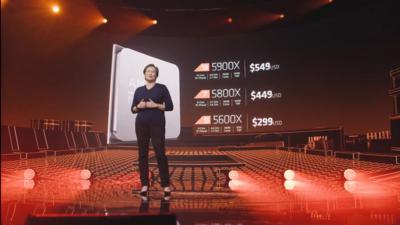 AMD Ryzen 5000 Tarifs