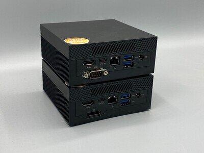 Deux versions de l'ASUS PN50, dont une avec un port personnalisé
