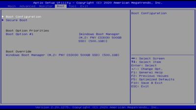 ASUS PN50 BIOS