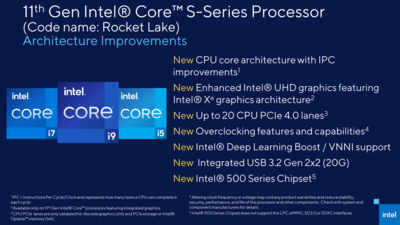 Intel Rocket Lake-S Cypress Cove