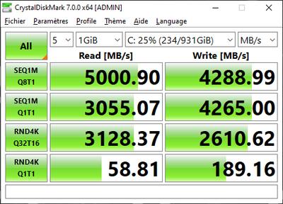 PCSpecialist Vector Q40A SSD
