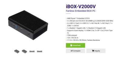 ASRock iBOX-V2000V