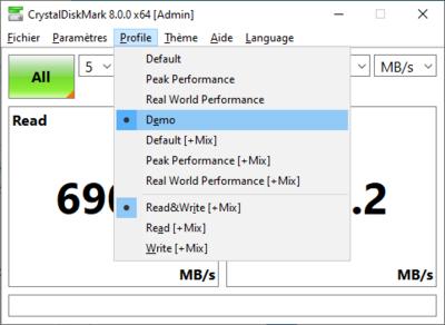 CrystalDiskMark 8.0
