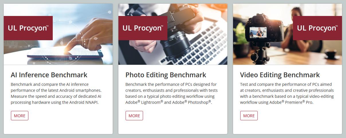UL Benchmarks Procyon