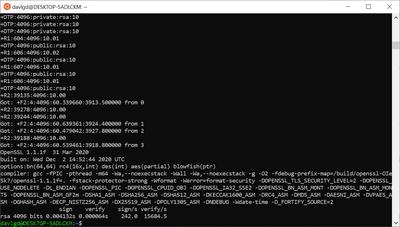 Odroid H2+ OpenSSL