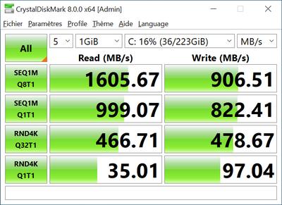 Z490 SSD Kingston A1000