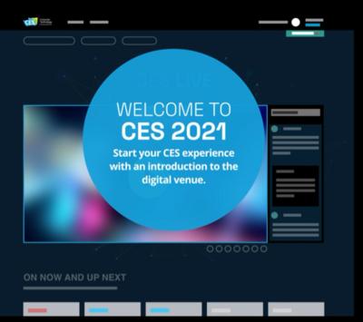 CES 2021 numérique Bureau ancrage