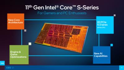 Intel CES 2021 Rocket Lake-S