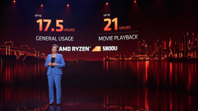 AMD CES 2021 Ryzen Mobile 5000