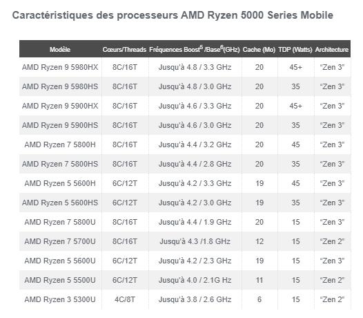 AMD Ryzen 5000 Mobile Zenpocalypse
