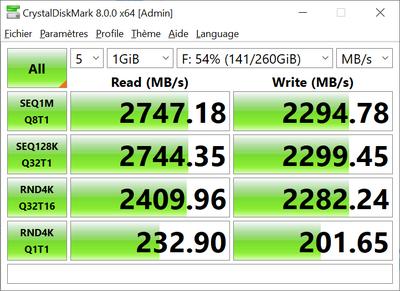 Optane 900p CrystalDiskMark 8.0