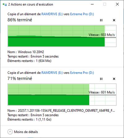 USB 3.2 Gen 2x2 Copie