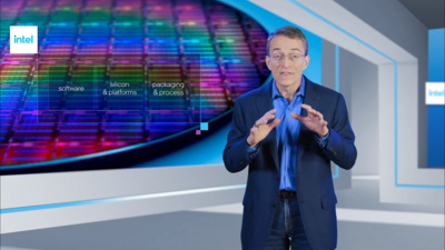 Intel Pat Gelsinger 2020 Engineering the Future