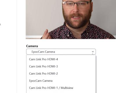 Elgato Cam Link Pro Zoom