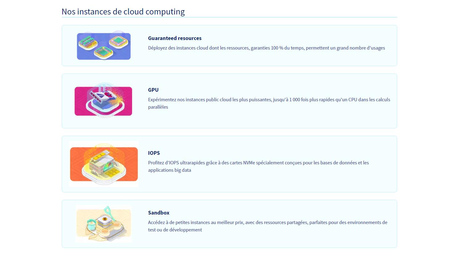 OVHcloud Public Cloud Compute