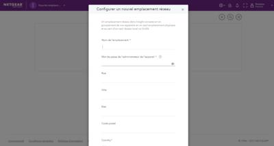 Netgear Insight Emplacement Wi-Fi