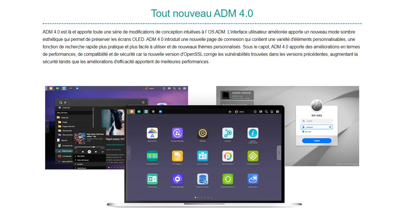 Asustor ADM 4.0