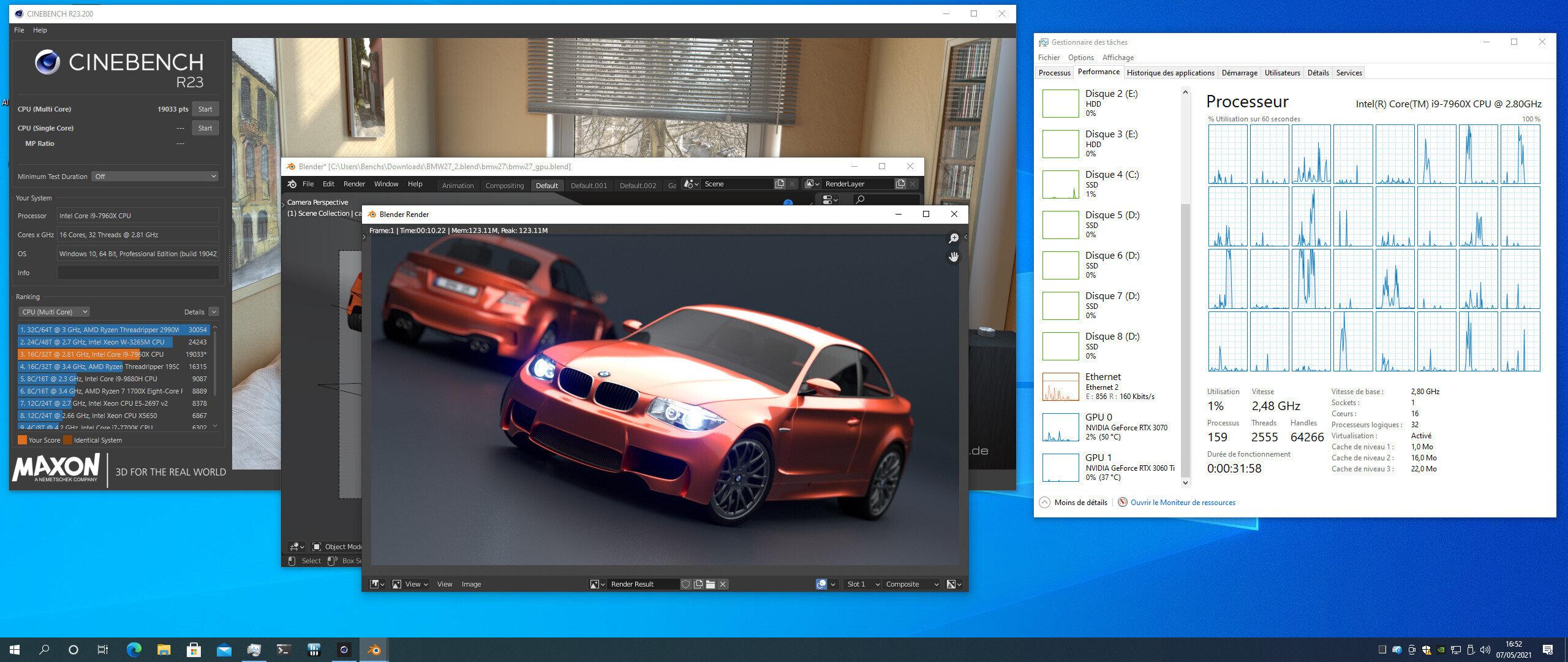 Serveur 4U Windows 10
