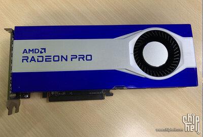 Radeon Pro W6800 Fuites