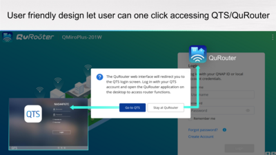 QNAP QMiroPlus-201W Interface