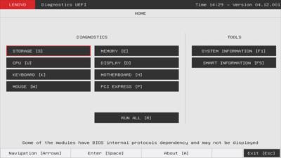 Lenovo ThinkCentre M75n UEFI