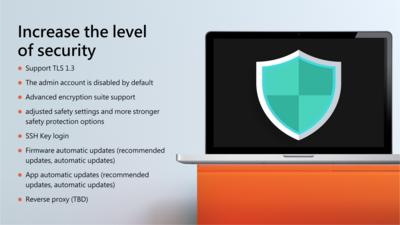 QNAP QTS 5.0 Sécurité
