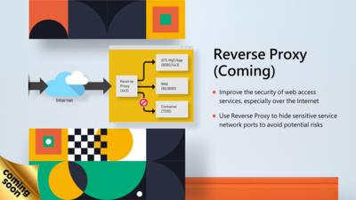 QNAP QTS 5.0 Reverse Proxy