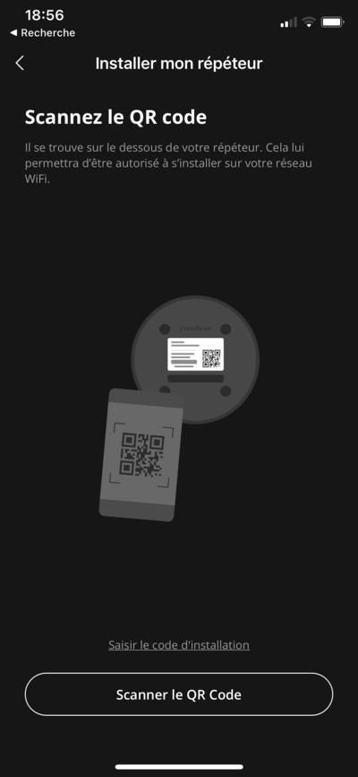 Installation Répéteur Freebox Pop