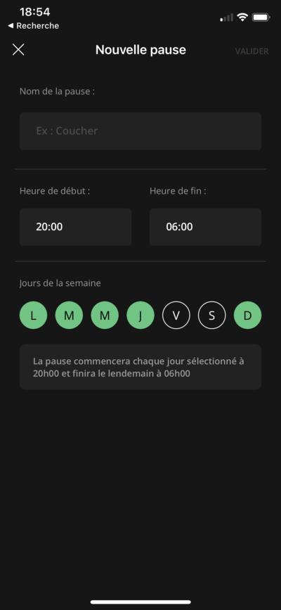 Freebox Connect Profils