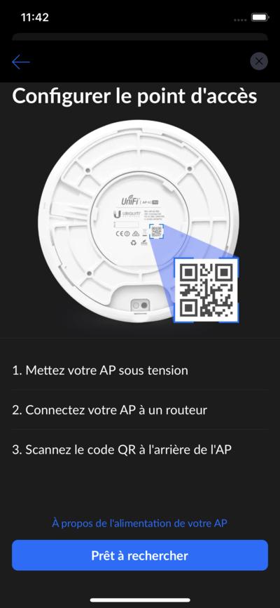 Ubiquiti UniFi AP Installation autonome