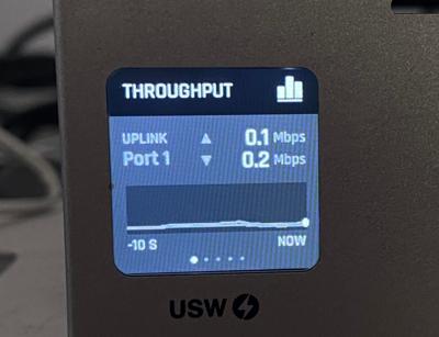 Ubiquiti UniFi Switch USW-16-PoE Ecran tactile