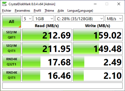 Windows 365 CrystalDiskMark 8