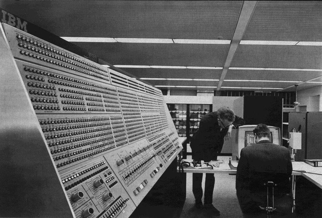 Mainframe IBM System 360 Model 91 NASA